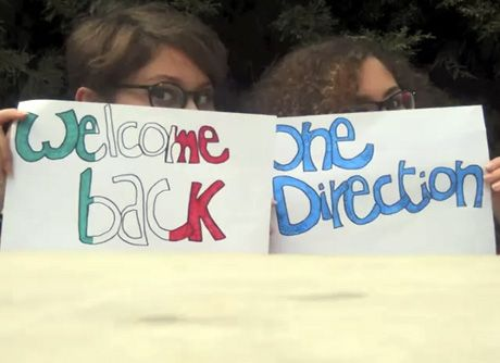 how to say welcome back in italian