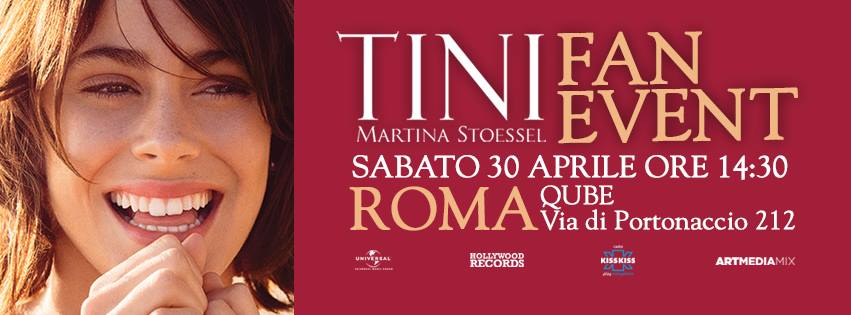 tini fan event roma 2016 stoessel