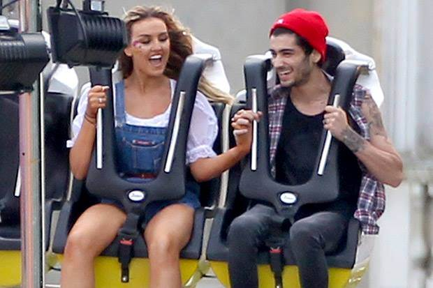 zayn e perrie sulle montagne russe compleanno malik